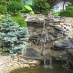 Строительство водопада в Воронеже