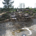 Строительство искусственных водопадов