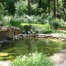 Искусственный водоем – украшение сада