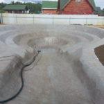 Гидроизоляция и установка оборудования