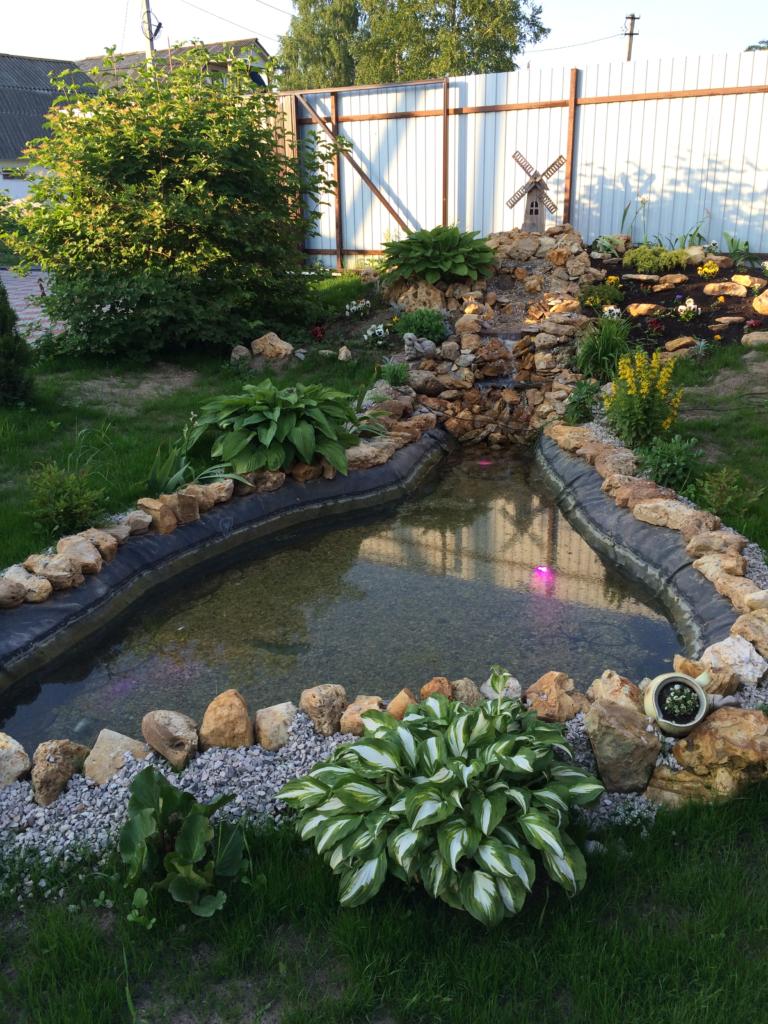 строительство пруда и водоема
