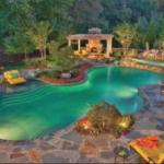 Дизайн-проект с бассейном