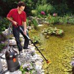 обслуживание и чистка прудов