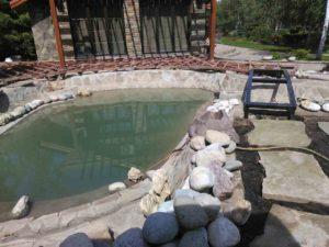 подготовка чаши пруда