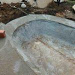 Пруды из бетона и бетонные чаши