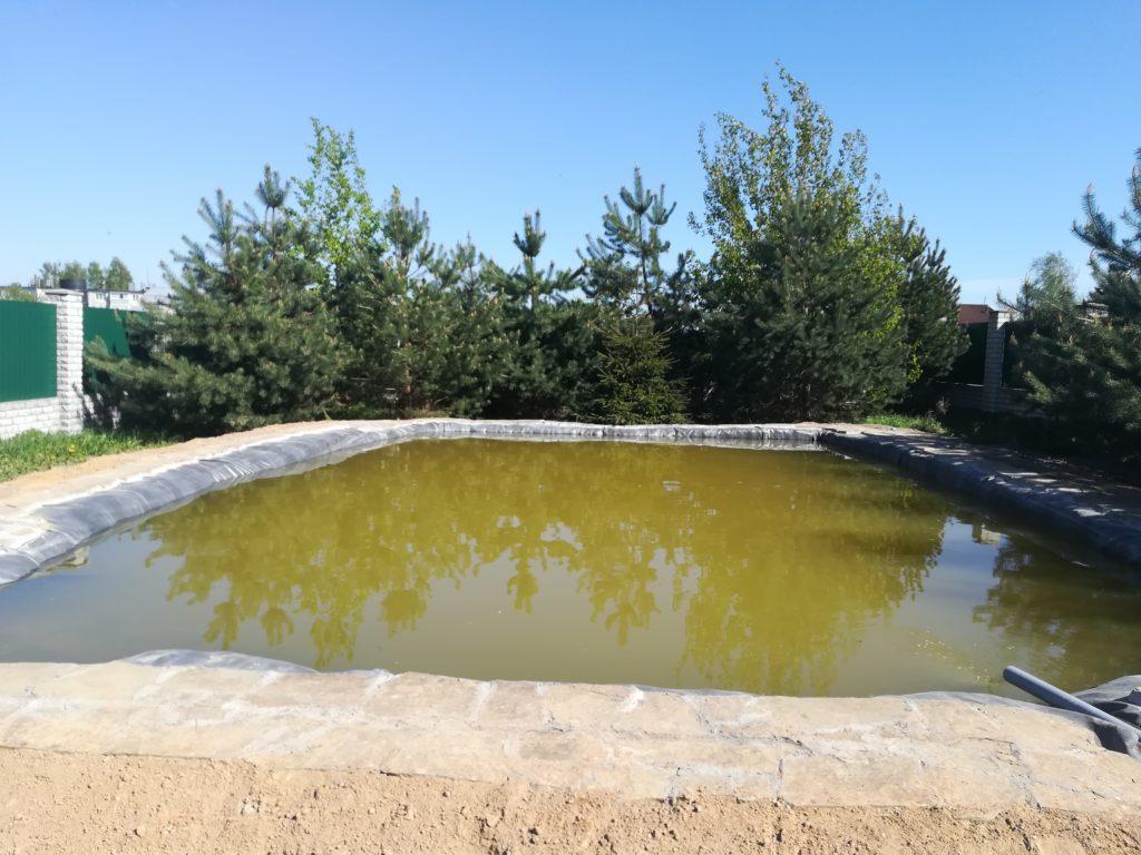 Пруд для рыбы, Рязань, 80 кв. М стоимость от 350000